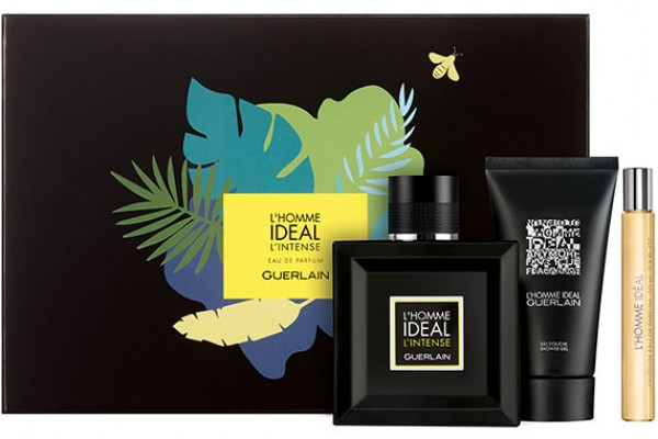 Guerlain L'Homme Ideal L'Intense - Набор (edp 100ml + sh/gel 75ml + edp 10ml)