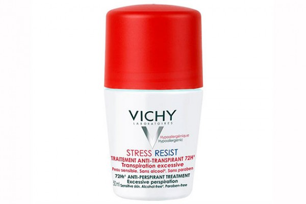 Шариковый дезодорант - Vichy Stress Resist Anti-Transpirant 72 H