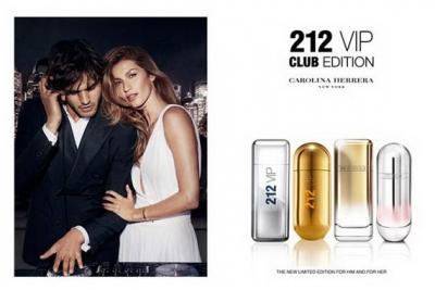Carolina Herrera 212 VIP Club Edition - Туалетная вода (тестер)