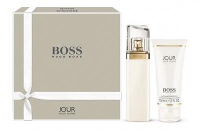 Hugo Boss Jour Pour Femme - Набор (edp 50ml + b/lot 100ml)