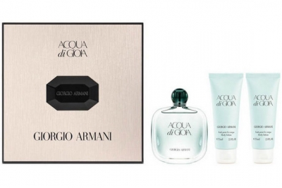 Armani Acqua di Gioia - Набор (edp 50ml + b/l 75ml + b/l 75ml)