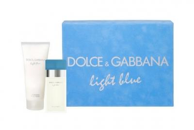 Dolce&Gabbana Light Blue - Набор (edt 25ml+b/cream 50ml)