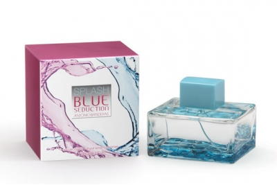 Antonio Banderas Splash Blue Seduction For Woman - Туалетная вода