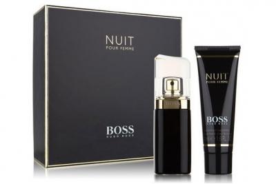 Hugo Boss Nuit Pour Femme - Набор (edp/50ml + b/lot 100ml)