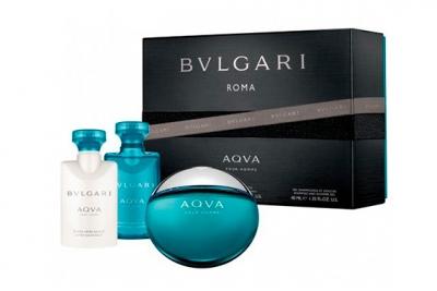 Bvlgari Aqva Pour Homme - Набор (edt 50ml + s/g 40ml + afsh 40ml)