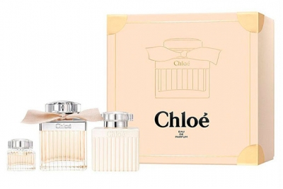 Chloe Eau de Parfum - Набор (edp 75ml + b/l 100ml + mini 5ml)