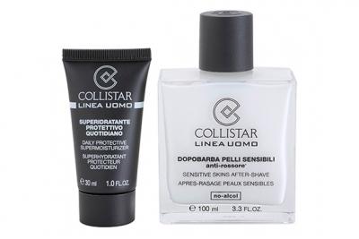 Лосьон после бритья тонизирующий+увлажняющее средство - Collistar Uomo Sensitive Skins