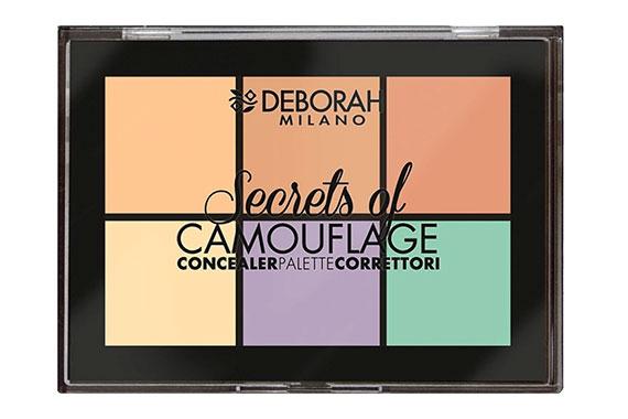 Палетка корректоров - Deborah Secrets of Camouflage