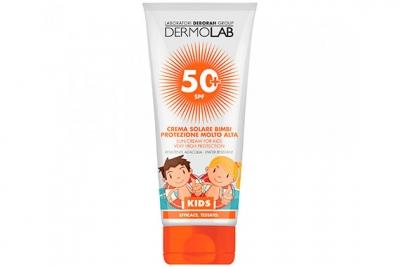 Солнцезащитный крем для детей - Deborah Dermolab Sun Cream Kids SPF 50+