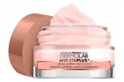 Дневной лифтинг-крем для лица и шеи - Deborah Dermolab Face Neck Day Cream Lifting SPF 20
