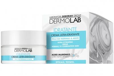 Увлажняющий крем для нормальной и комбинированной кожи - Deborah Dermolab Ultra Hydrating Cream