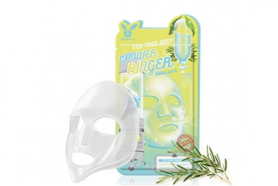 Маска для проблемной кожи - Elizavecca Tea Tree Deep Power Ringer Mask Pack