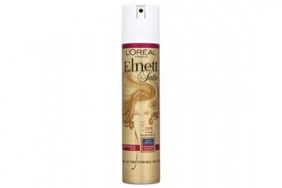 Лак для окрашенных волос - Loreal Elnett Satin Hairspray