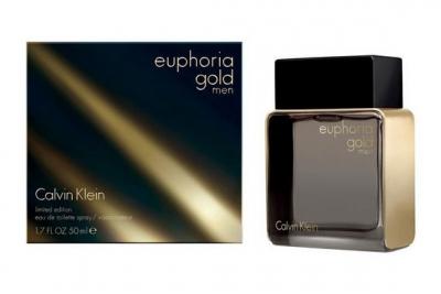 Calvin Klein Euphoria Gold Men Limited Edition - Туалетная вода
