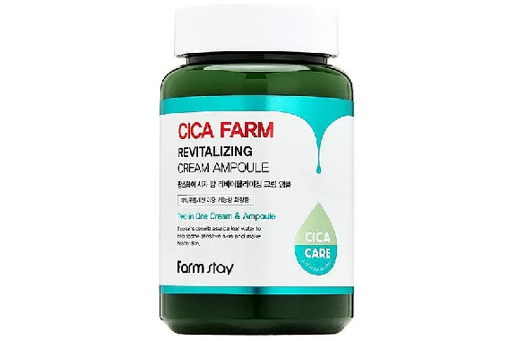 Крем для лица ампульный - FarmStay Cica Farm Revitalizing Cream Ampoule