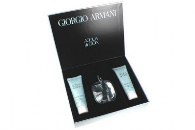 Armani Acqua di Gioia - Набор (edp 100ml + b/l 75ml + b/l 75ml)