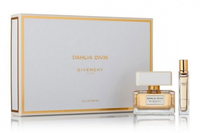 Givenchy Dahlia Divin - Набор ( edp 50ml + mini 12.5ml + bag)