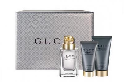 Gucci Made to Measure - Набор (edt/90ml + ash/balm/75ml + sh/gel/50ml)