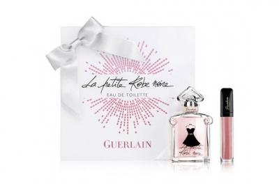 Guerlain La Petite Robe Noir - Набор (edt 50ml + l/gloss 7.5ml)