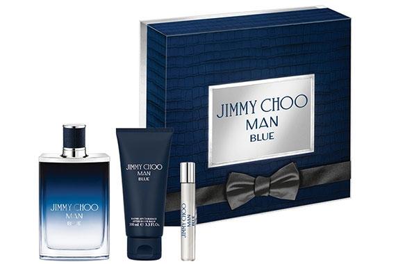 Jimmy Choo Man Blue - Набор (edt 100ml + ash/balm 100ml + edt 7.5ml)