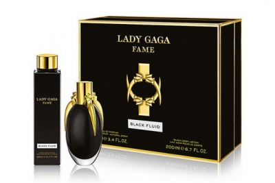 Lady Gaga Fame Black Fluid - Набор (edp/100ml + b/lot/200ml)