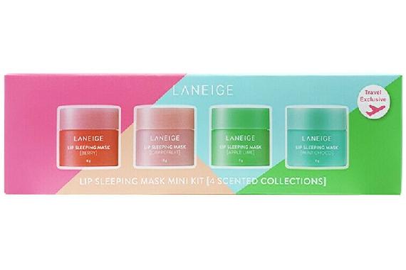 Набор ночные маски для губ - Laneige (lip sleeping mask 4*8g)