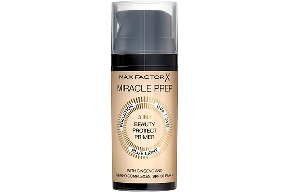 Праймер основа под макияж - Max Factor Miracle Prep 3 in 1 Beauty Protect Primer