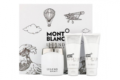 Montblanc Legend Spirit - Набор (edt 100ml + ash/balm 100ml + sh/gel 100ml)