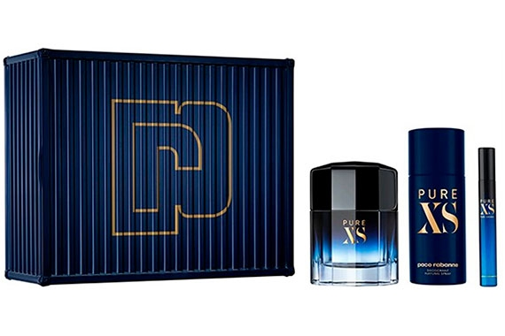 Paco Rabanne Pure XS - Набор (edt 100ml + edt 10ml + deo 150ml)