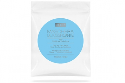 Тканевая детокс-маска для лица - Pupa Detoxifying Mask