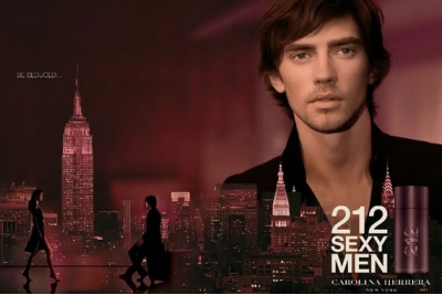 Carolina Herrera 212 Sexy Men - Лосьон после бритья