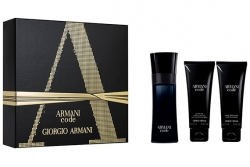 Giorgio Armani Armani Code Pour Homme - Набор (edt 75ml + a/sh balm 75ml + sh/gel 75ml)
