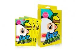 Маска для лица с экстрактом лимона - Bling Pop Lemon Vitamin & Brightening Mask
