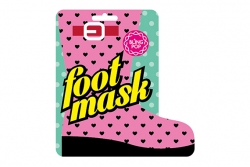 Спа-носочки для педикюра с маслом Ши - Bling Pop Shea Butter Healing Foot Mask