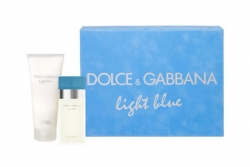 Dolce&Gabbana Light Blue - Набор (edt 25ml+b/cream 50ml)