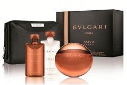 Bvlgari Aqva Amara - Набор (edt 100ml + sh/gel 75ml + ash/balm 75ml + bag)