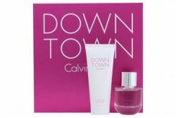 Calvin Klein Downtown - Набор (edp 50ml + s/g 100ml)