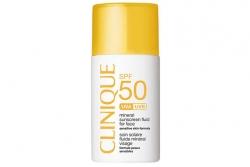 Солнцезащитный флюид для лица - Clinique Mineral Sunscreen Fluid Face SPF 50