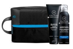 Набор - Collistar Uomo (gel 250ml + foam 200ml + bag)