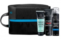 Набор - Collistar Uomo (shm/sh/gel 100ml + gel 75ml + foam 75ml + bag)