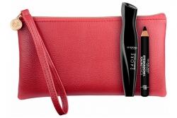 Набор - Deborah 24 ORE Absolute Volume Kit Red (mascara + pencil + bag)