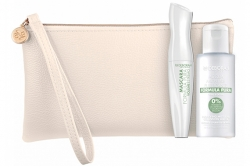 Набор - Deborah Formula Pura Volume Estremo Kit (mascara + acqua micellare + bag)