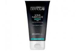 Очищающий скраб c углём - Dermolab Purifying Detox Scrub