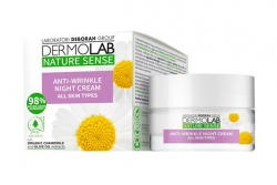 Ночной укрепляющий крем - Dermolab Nature Sense Anti-Wrinkle Night Cream
