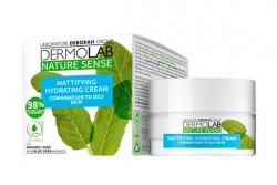 Матирующий увлажняющий крем - Dermolab Nature Sense Mattifying Hydrating Cream