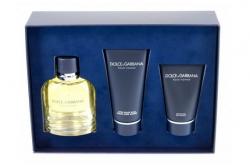 Dolce&Gabbana pour Homme - Набор (edt 125 + s/g 50 + a/sh balm 100)