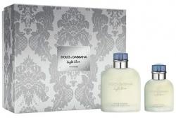 Dolce&Gabbana Light Blue Pour Homme - Набор (edt 125ml + edt 40ml)