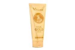 Очищающая пенка с муцином улитки и 24К золотом - Elizavecca 24k Gold Snail Cleansing Foam