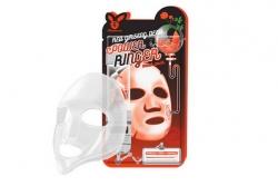 Маска омолаживающая с женьшенем - Elizavecca Face Care Red Ginseng Deep Power Ringer Mask