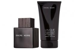 Lalique Encre Noire - Набор (edt 100ml + sh/gel 150ml)